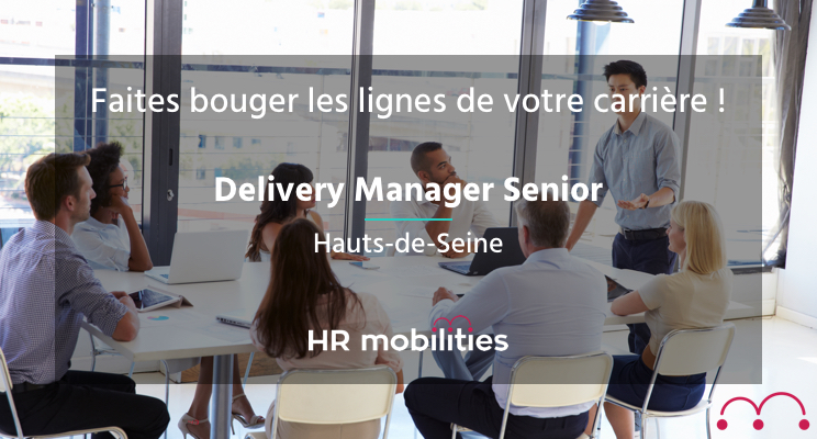 Delivery Manager offre d'emploi